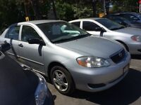 2005 Toyota Corolla CE,with safety etest,0 rust,0dent,grate Car.