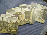 VINTAGE Alt-München (Old Munich) Coasters from WEST GERMANY!!
