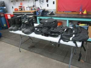 Womens & Mens Boots & Gloves  [new and used]