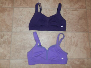 Bag of Lululemon exercise bras (various sizes)