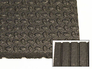 "Horse Stall Mats - 4"" x 6"" x 3/4"" - Canadian Made"