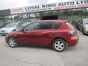 2008 Mazda Mazda3 CERTIFIED & ETSETED Hatchback