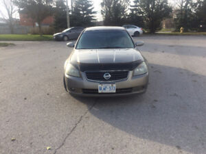 2005 Nissan Altima perfect winter beater