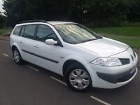 2007 Renault Megane 1.5 dci expression estate # cheap tax and insurance model ! Upto 70 mpg !