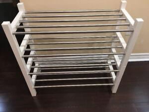 IKEA double shoe rack