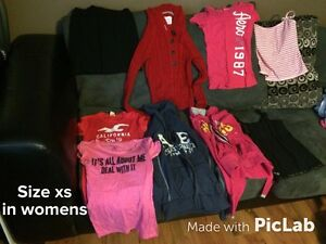 Girls clothes (size xs in women's) all for $5