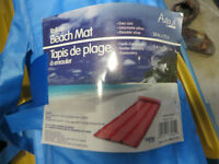 beach mat blue color