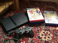 Sony PlayStation 2 & games and controller