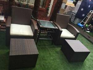 Outdoor Furniture Setting ---5 Pieces Wantirna South Knox Area Preview