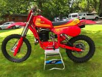ICONIC 1981 MAICO 490 MEGA 2 MOTOCROSS LEGEND GROUND UP RESTORATION