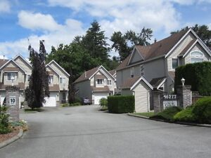3 bedrm, 3 bathrm, Chilliwack townhouse on quiet creek