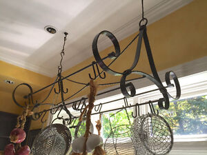 PRICE REDUCED. Unique French Pot Rack