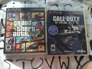 GTA 5 $20 AND CALL OF DUTY GHOST 15