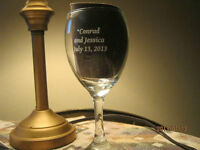 Custom Printed Glasses for Your Wedding
