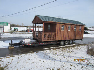 Amish shed rental