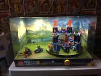 Knexo nights 70317 castle - shop display with led lights