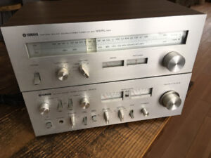 Yamaha Natural Sound Amplifier CA-610 + Stereo Tuner CT-610
