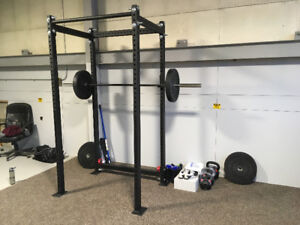 Northern Lights Combo Power/Squat Rack / Barbell / Weights