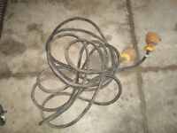 35 foot 8/3 flexible electrical cord with plugs