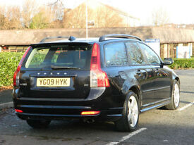 09 REG VOLVO V50 2.4 D5 R-DESIGN SPORT WITH 2 TONE LEATHER+SUNROOF
