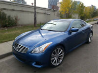 VERY LOW KM!!!! 2008 Infiniti G37 Sport Coupe (2 door)