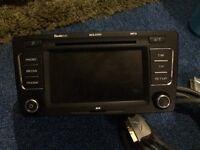 Skoda CD MP3 player car system