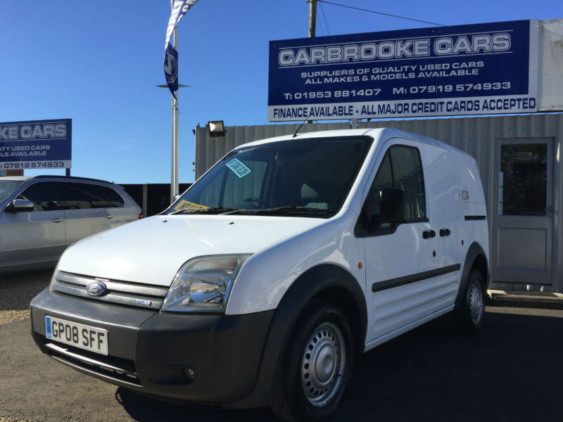 69912b0301 2008 08 FORD TRANSIT CONNECT 1.8TDCi T220 LX- NO VAT - 12 MONTHS MOT - WARRANTY