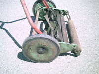Vintage. Made in England manual mower.