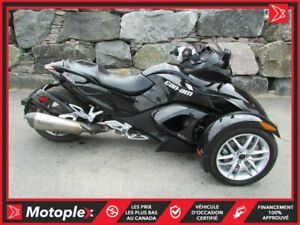 2014 Can-Am SPYDER RS SM5 * SEULEMENT 4800 KM! 69$/SEMAINE