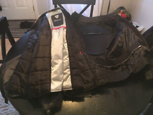 motor cycle jacket and helmets