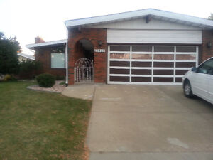 Nice large house 4 bedroom 2.5 bath double garage,yard for rent