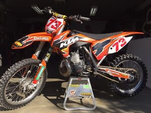 KTM 250 SX 2014 bondi engine