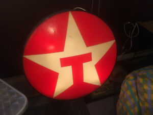 Vintage Texaco Lighted Sign
