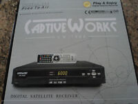 Captive works free to air receiver