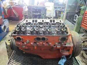 350 Chevrolet  long block rebuilt