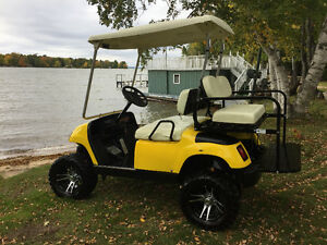 Golf Cart.  It's what you need for the cottage.