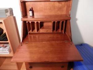 secretaire en bois antique