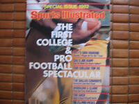 1982 SPECIAL EDITION S.I. IST,COLLEGE & PRO FOOTBALL SPECTACULAR