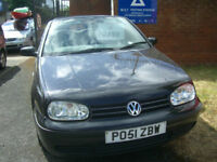 Volkswagen Golf convertable