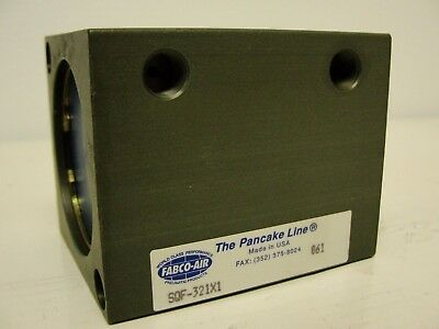 New In Package Fabco-air Square Cylinder Sqf-321x1