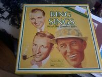 "BING SINGS"" 8 Album Collector's Edition - Mint Condition P898"