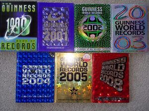 7 Guinness World Record books-High Interest books for kids!