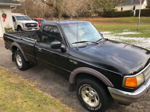 4x4 regular cab 5 speed long box 1997 ranger