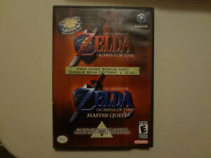 The Legend of Zelda : Ocarina of Time and Master Quest Gamecube