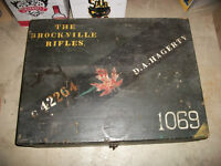 Brockville Regiment Foot Locker WW2 DA HAGERTY military Ontario