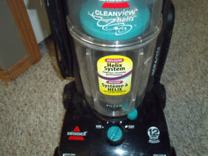Bissell Cleanview upright vacuum cleaner, helix system