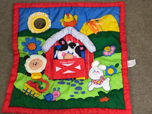 1993 Fisher Price Play Blanket/Mat