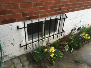 Steel Basement Window Bars