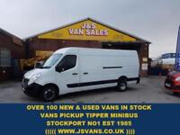 2016 16 RENAULT MASTER LML35 BUSINESS DCI 125 BHP TWIN WHEEL JUMBO ONLY 20000 ML