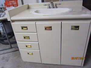36 INCH VANITY COUNTER SINK AND FAUCET